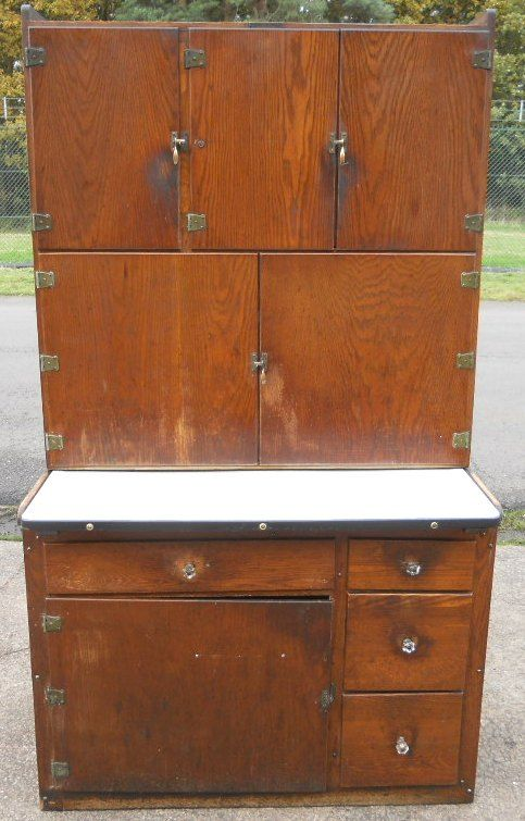 Two section wooden kitchen cabinet 192244 for Kitchen cabinet section