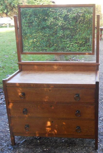 cotswold oak dressing table