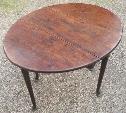 georgian small mahogany dropleaf table