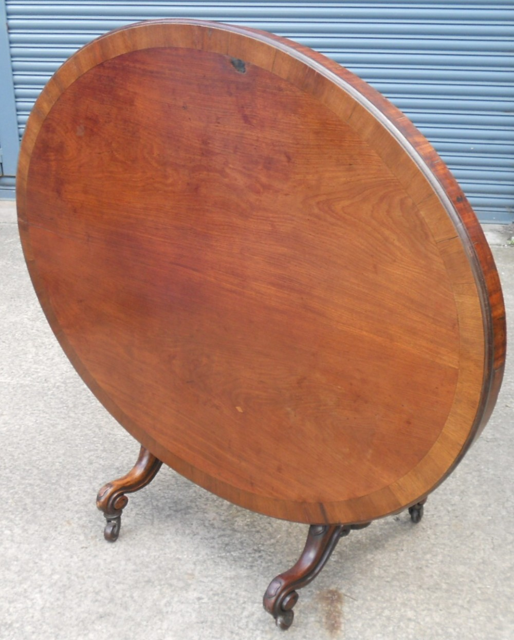 large victorian oval pedestal mahogany dining table