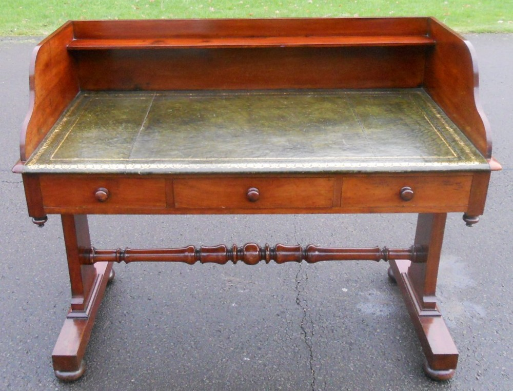 leather writing desk Find great deals on ebay for leather top writing desk shop with confidence.