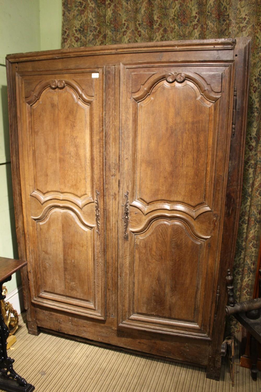 antique oak flat pack armoire