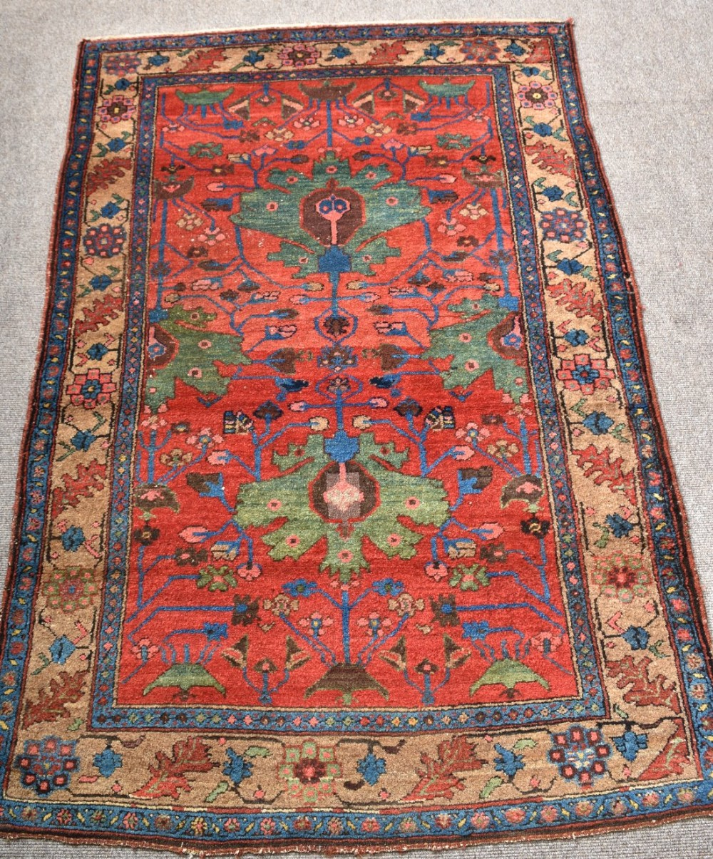 Chinese Rug Dealers: Antique Persian Kurdish Rug