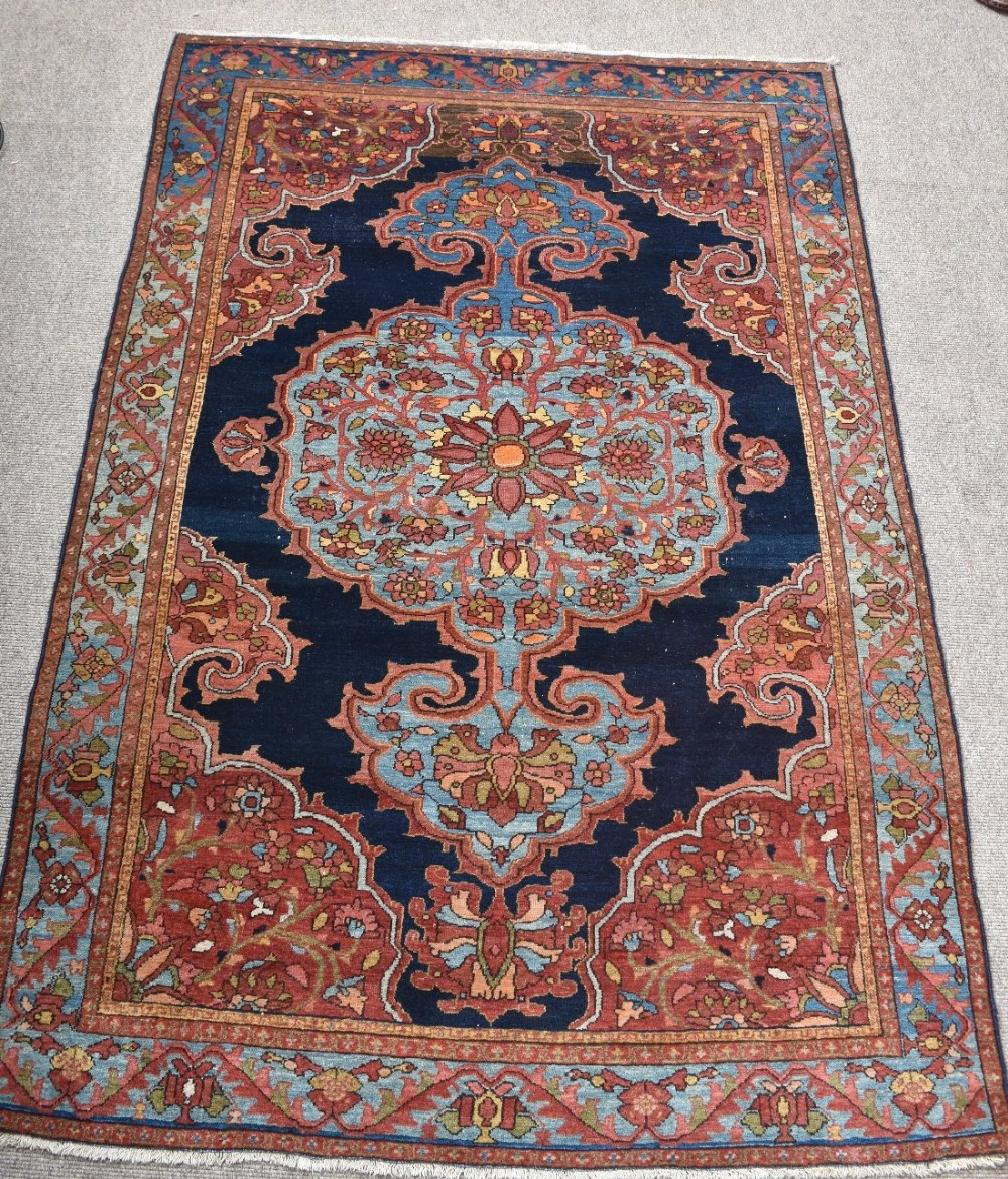 Antique Persian Mission Malyor Rug