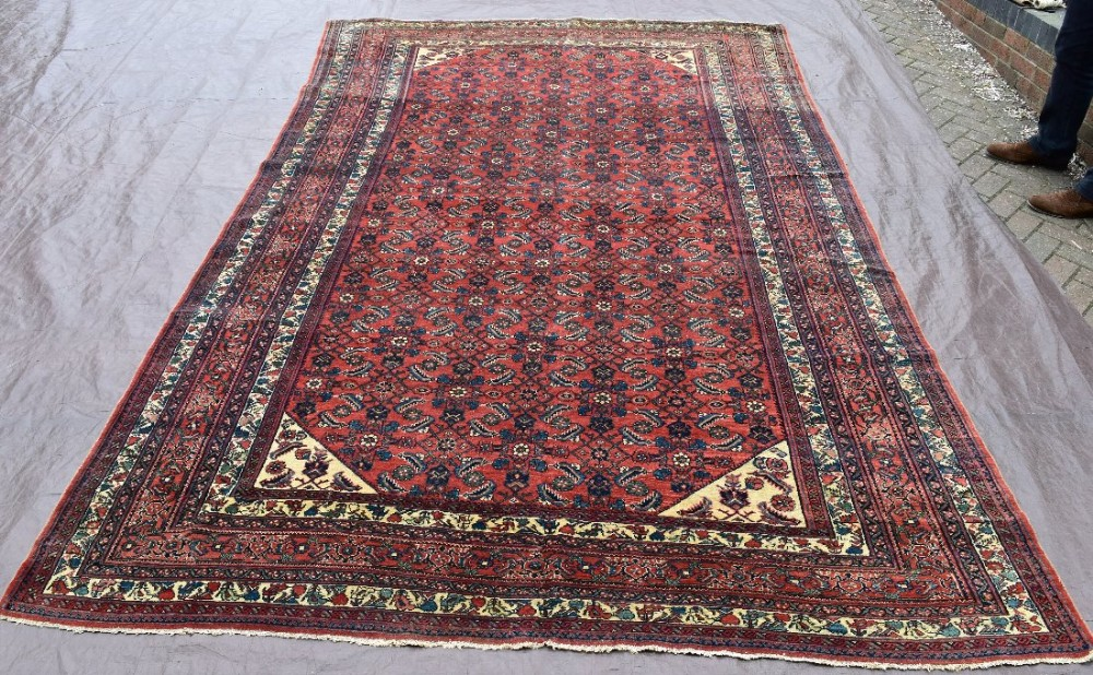 old hamadan carpet