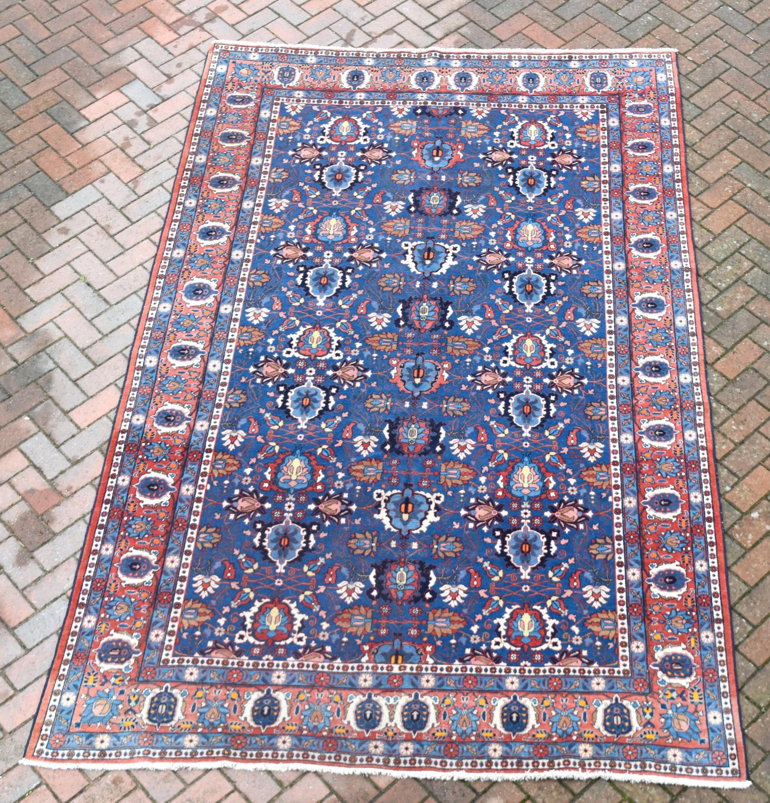 an old veramin carpet 323x211 cm