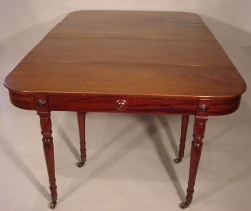 regency period dining table