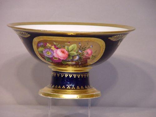 exquisite paris porcelain tazza