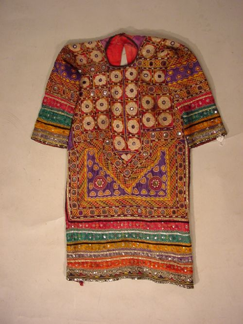 hand embroidered dress from pakistan