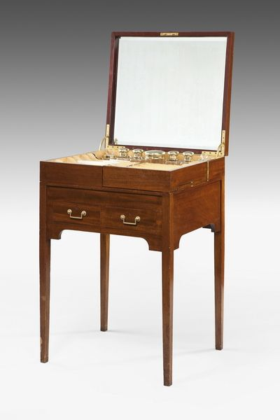 dressing table fitted with original inserts