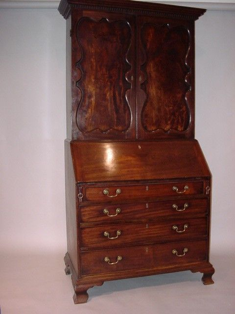 george ii period bureau bookcase