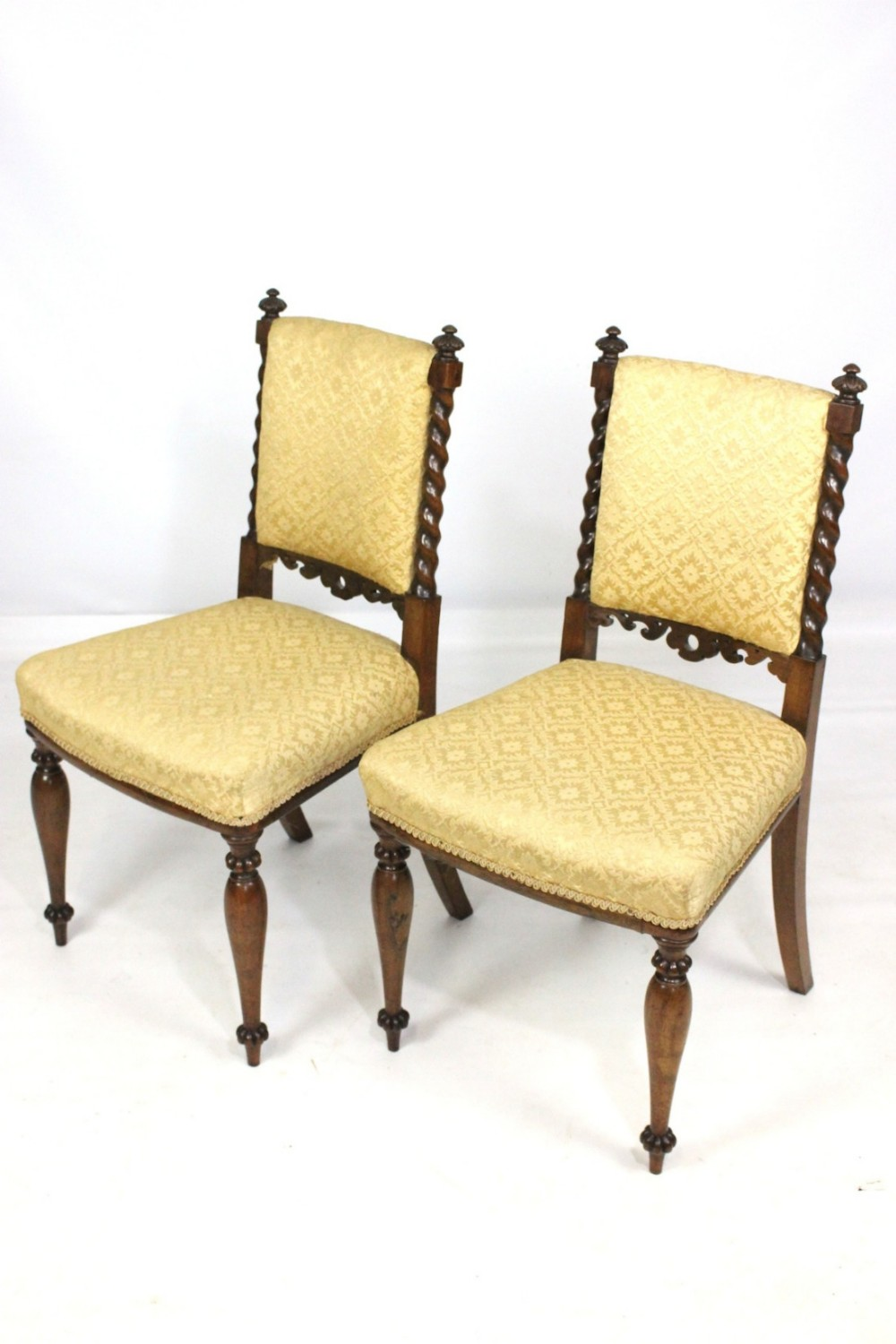 Pair Of Antique Rosewood Hall Bedroom Or Dining Chairs  : dealerhamptonsinteriorshighres1490445524062 9529266099 from www.sellingantiques.co.uk size 1000 x 1500 jpeg 159kB