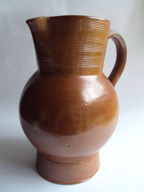 a large antique french saltglaze stoneware cider jug & A Large Antique French Saltglaze Stoneware Cider Jug | 175356 ...