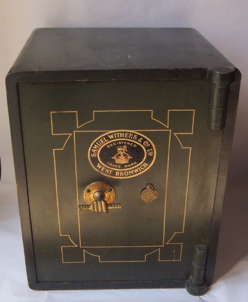 An Antique Safe By Samuel Withers Amp Co Ltd With Original
