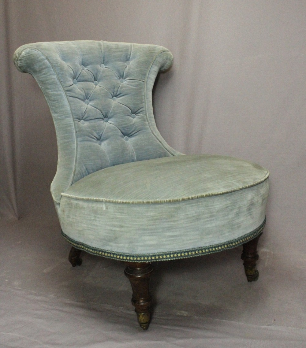 best sneakers 48e9a d7316 Victorian Button Back Bedroom / Nursing Chair | 413939 ...