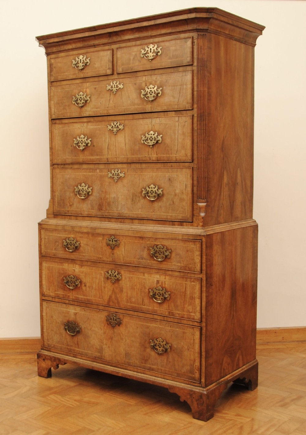 new concept 54444 fb2ef Early 18th Century Walnut Tallboy | 599771 | Sellingantiques ...