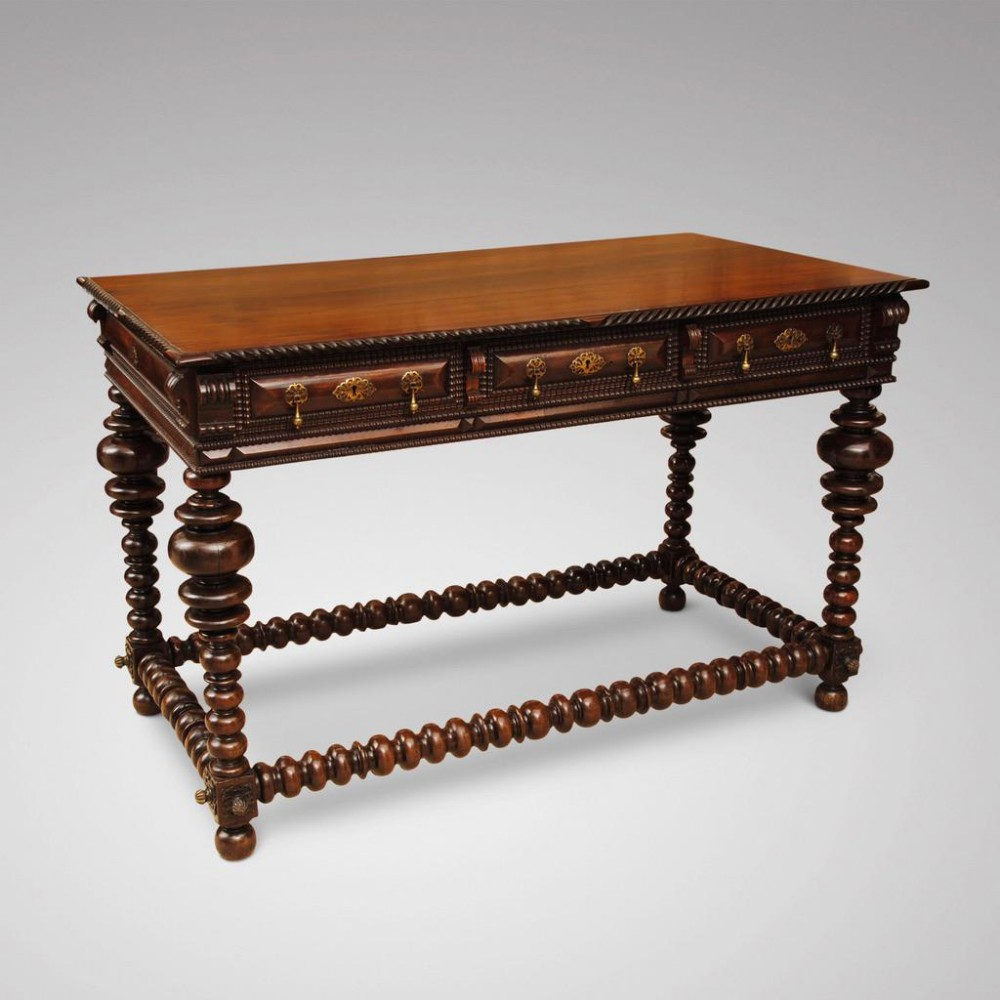 early 19th century portuguese rosewood centre table
