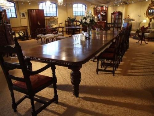 20 Seat Victorian Oak Extending Dining Table 99703  : dealerharbourantiquesfull1292924284184 6977613347 from www.sellingantiques.co.uk size 500 x 375 jpeg 43kB