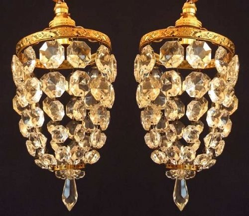 small pair of antique chandeliers - Small Pair Of Antique Chandeliers 25161  Sellingantiques.co. - Small Antique Chandeliers Antique Furniture