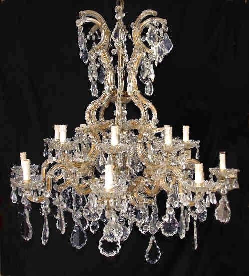 Very Large Victorian Marie Therese Chandelier 21487