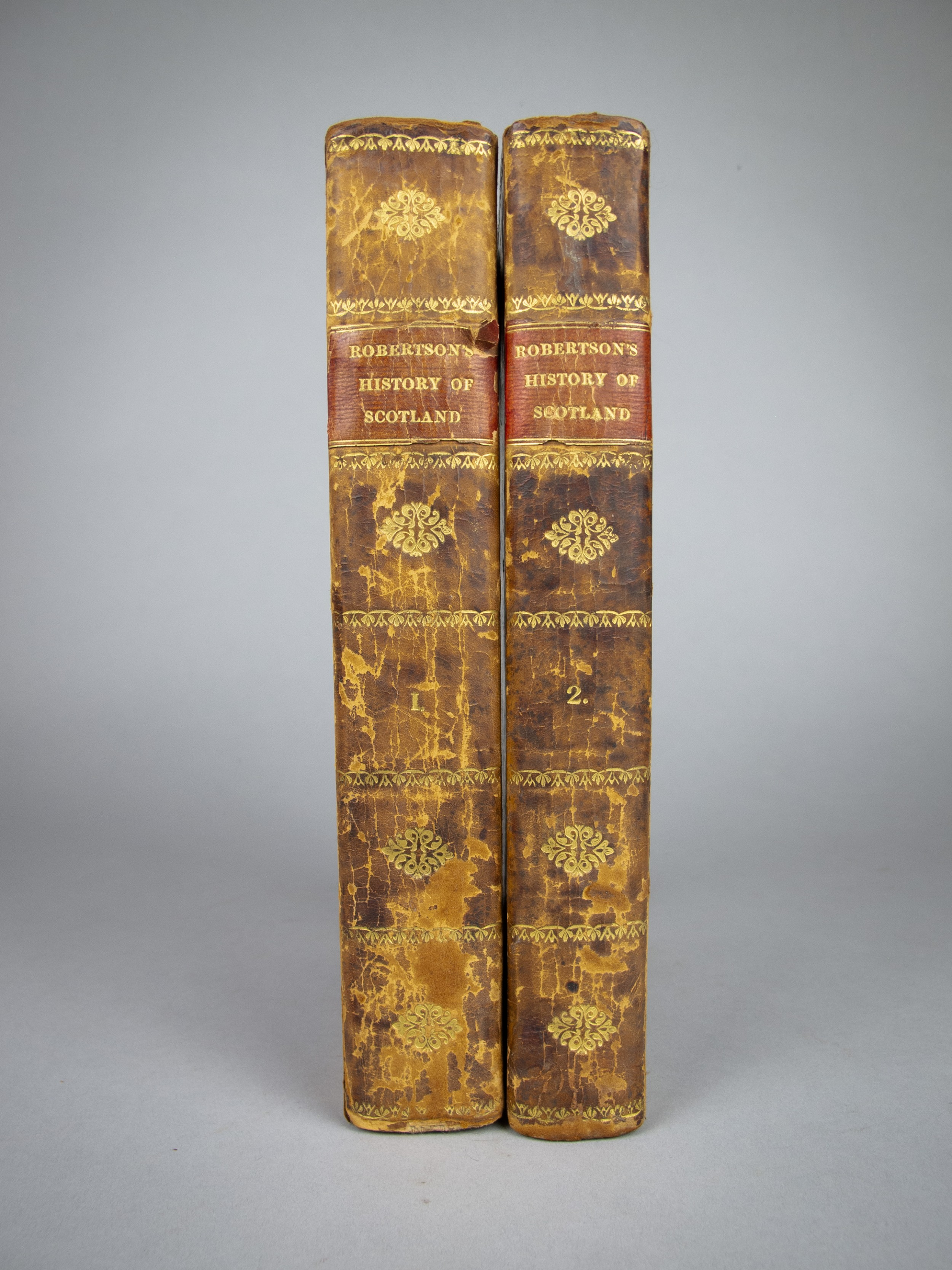 1827 the works of william robertson the history of scotland two volumes