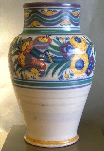 Poole Pottery Vase Carter Stabler Adams 1920s 158091