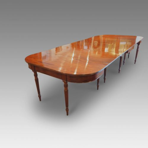 12 seat antique mahogany gillow dining table 431818 for 12 seater dining table uk