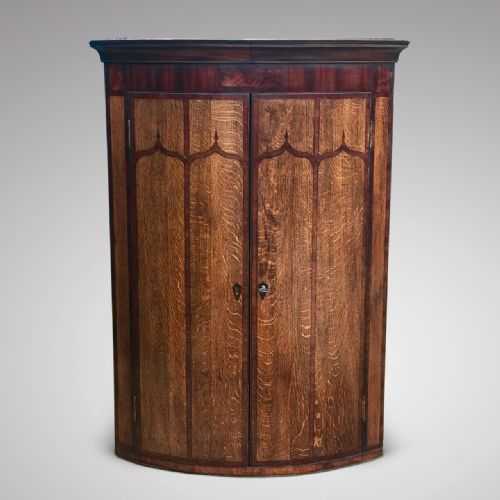 Hobson May Collection · GEORGE II OAK CORNER CUPBOARD ... - Antique Corner Cupboards - The UK's Largest Antiques Website