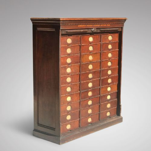 Antique Mahogany Filing Cabinets The Uk S Largest Antiques Website