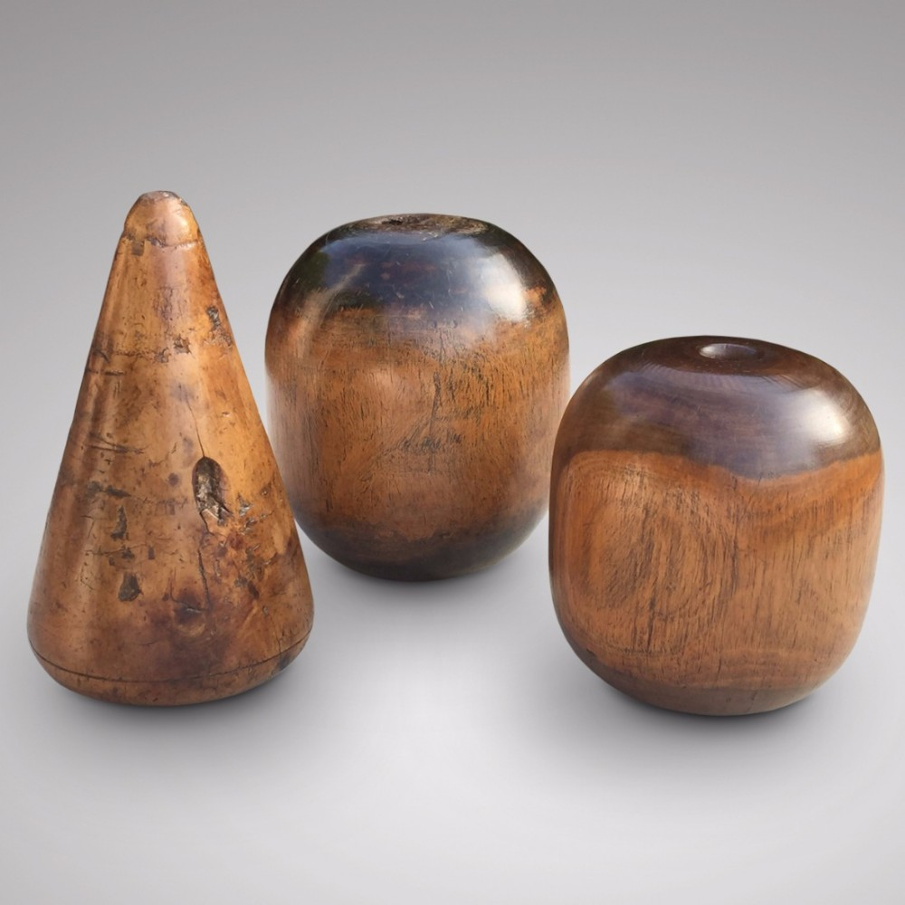 a trio of 19th century plumbing tools