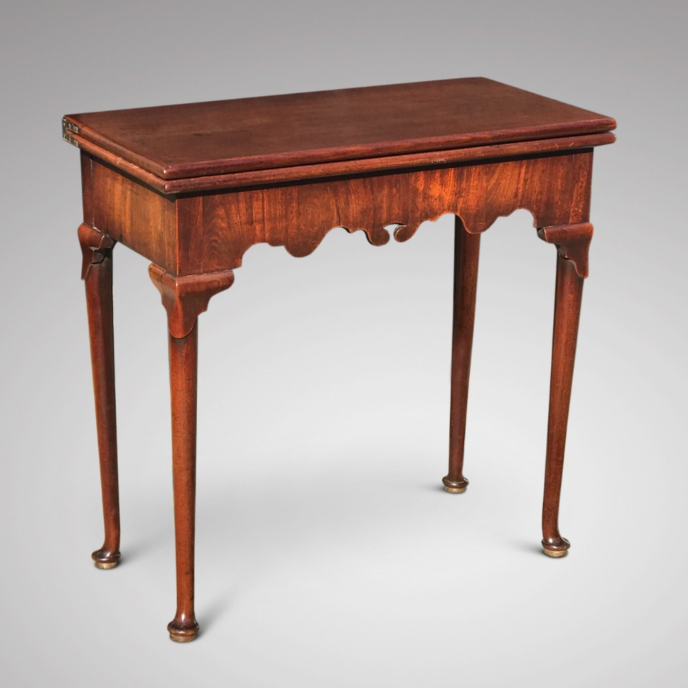 george ii mahogany tea table