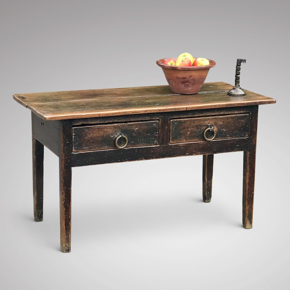 18th century welsh oak serving table
