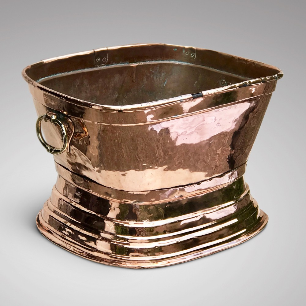 18th century french copper bowl
