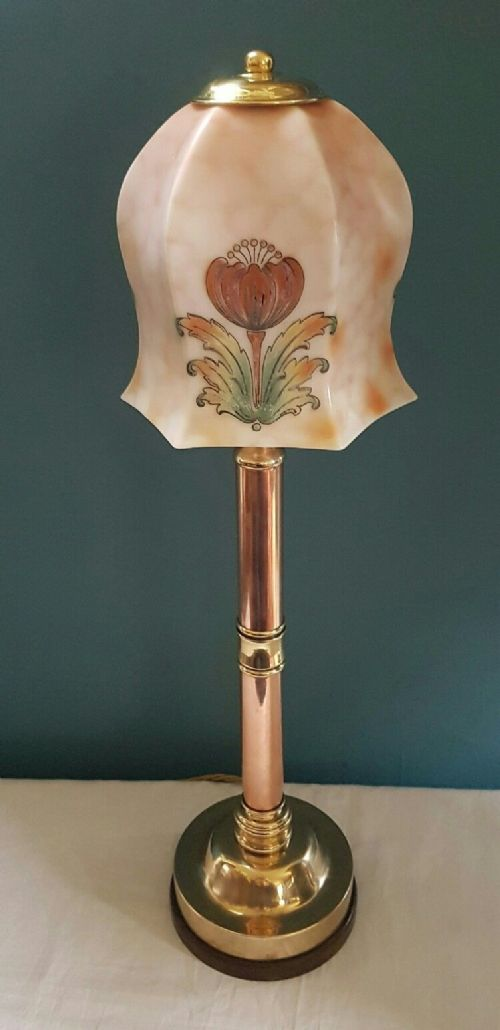 Brass Copper Table Lamp 459950