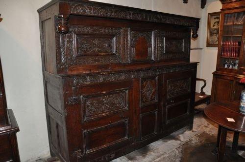 oak court cupboard - Oak Court Cupboard 102759 Sellingantiques.co.uk