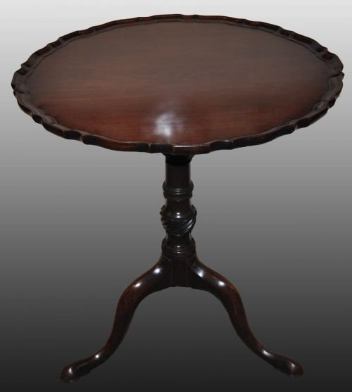 18th century mahogany chippendale table