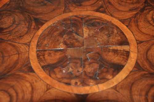 olive wood lace box - photo angle #4