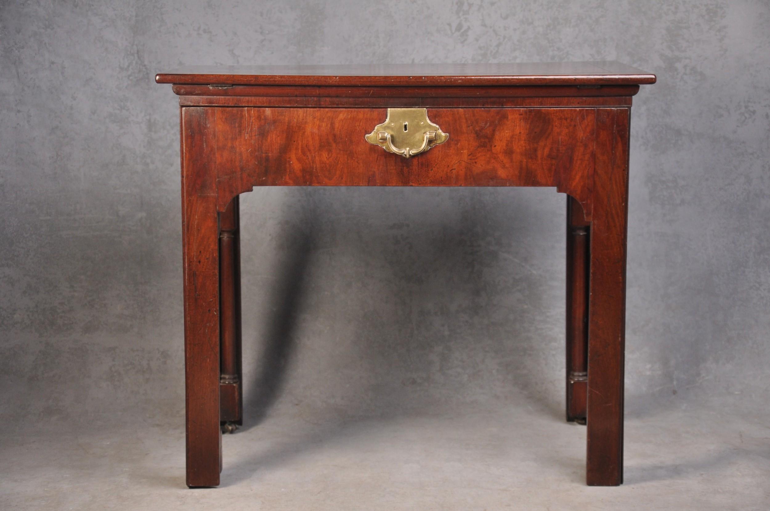 fine 18th century mahogany architect's table