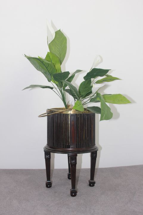 early 20th century george iii style mahogany oyster pail jardiniere wine cooler