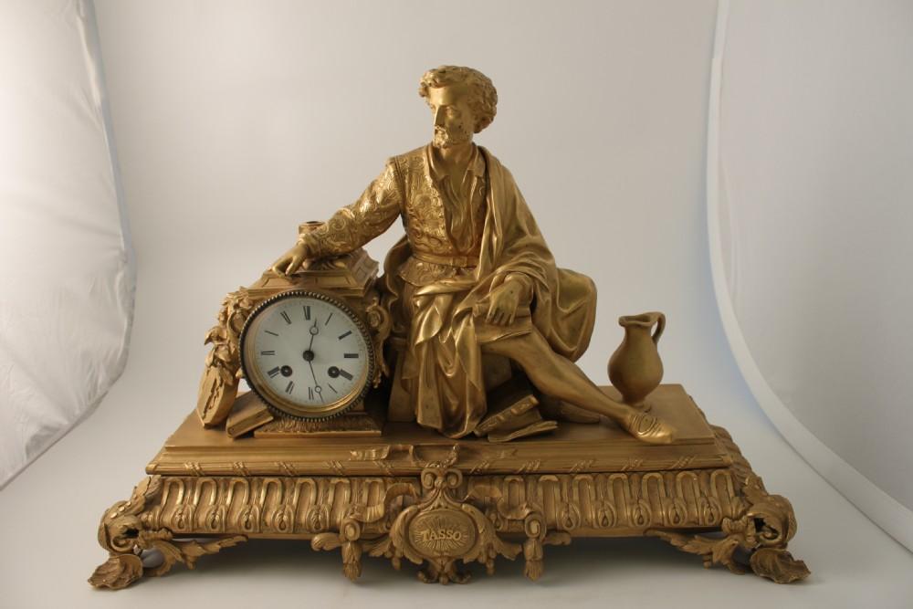 a fine quality early 19th century ormolu clock