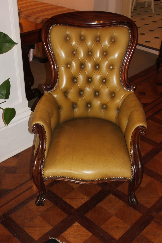 A Victorian Mahogany Gentleman's Armchair | 354179 ...