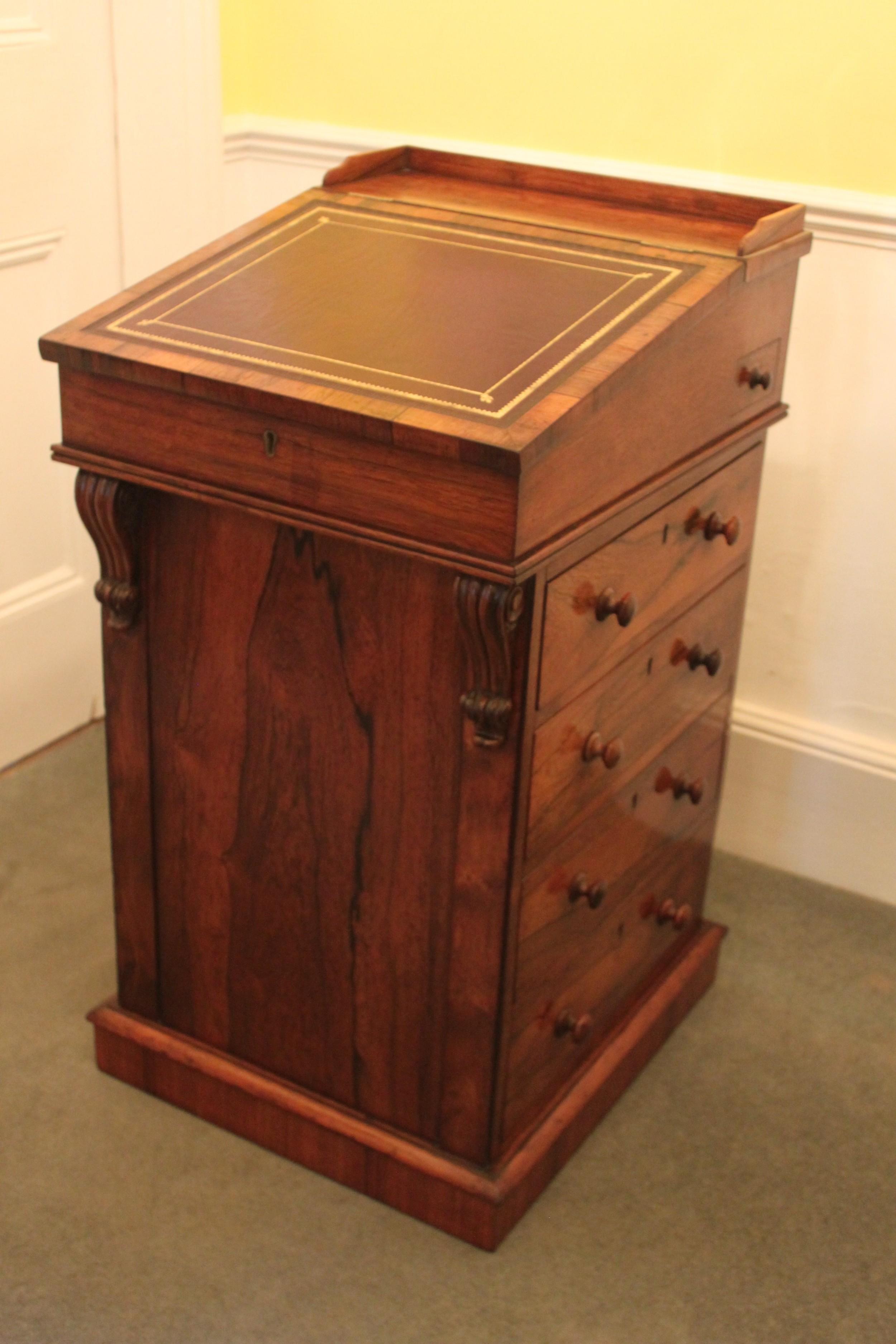 a fine original regency george iv rosewood davenport