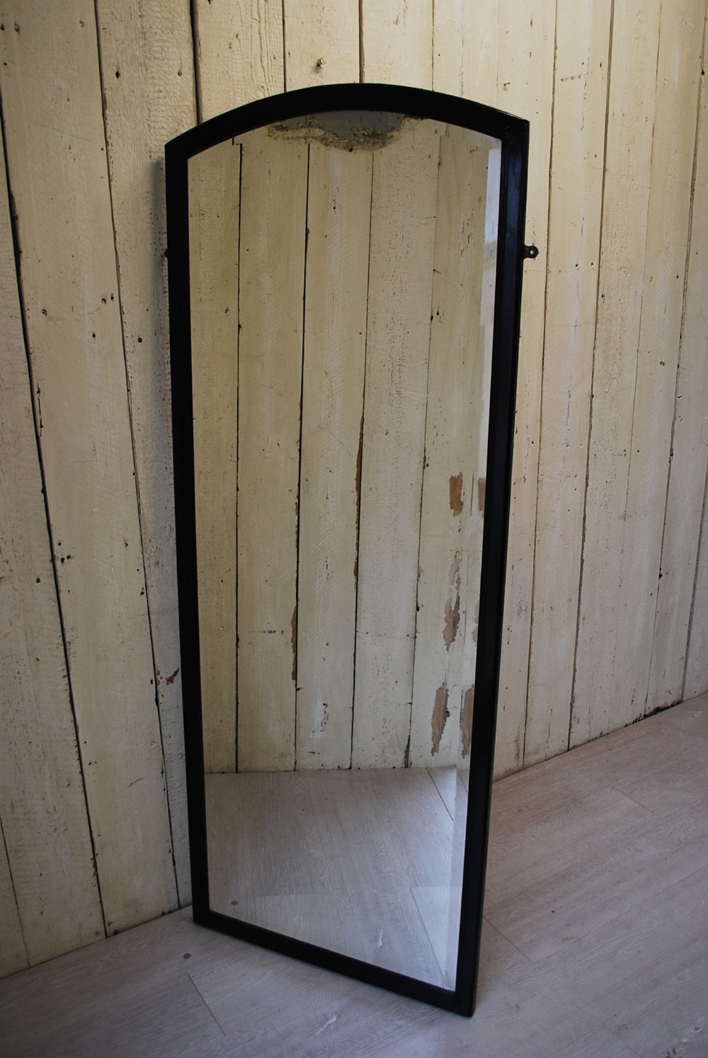 french shop fitting wall mirror c1920