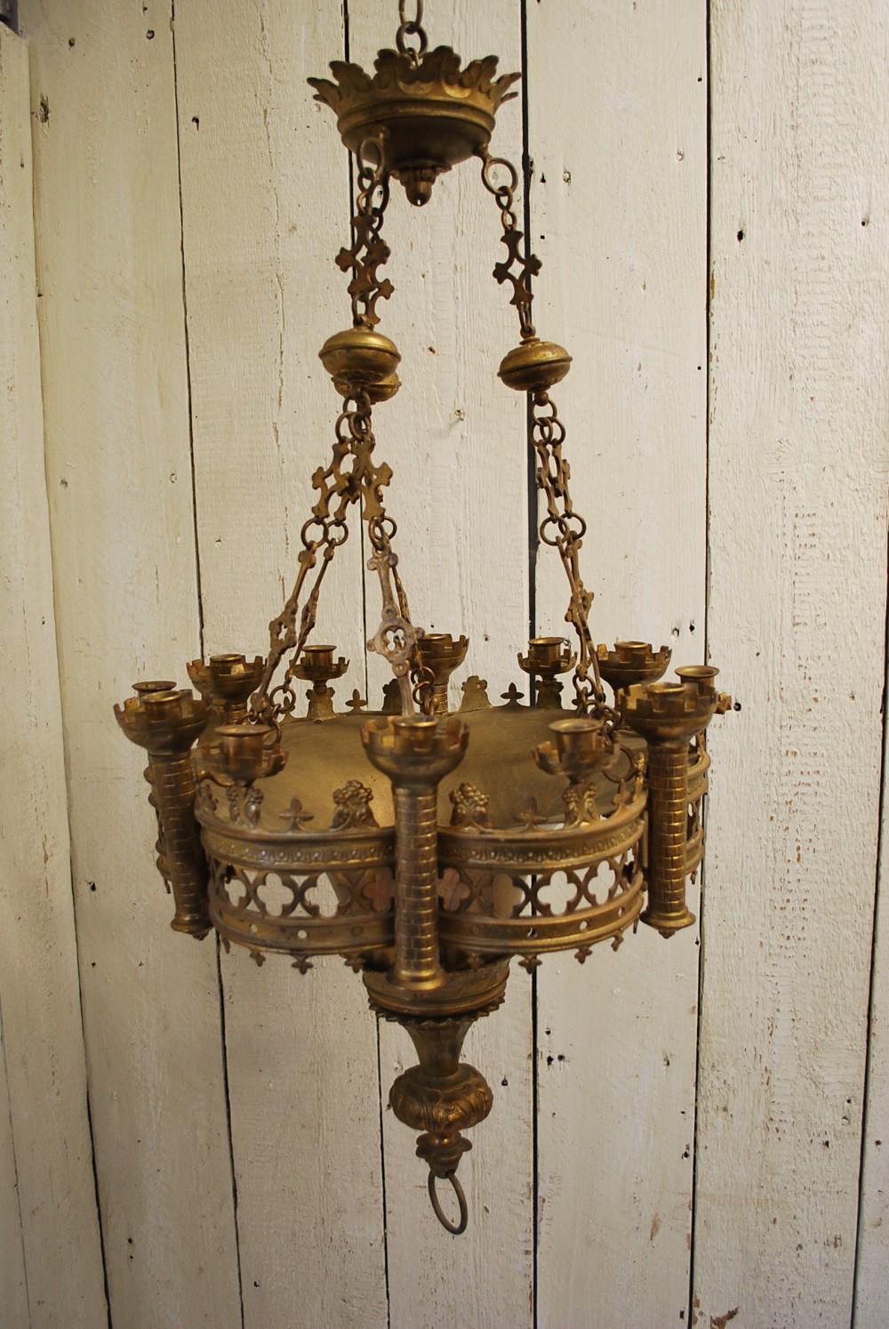 antique gothic chandelier