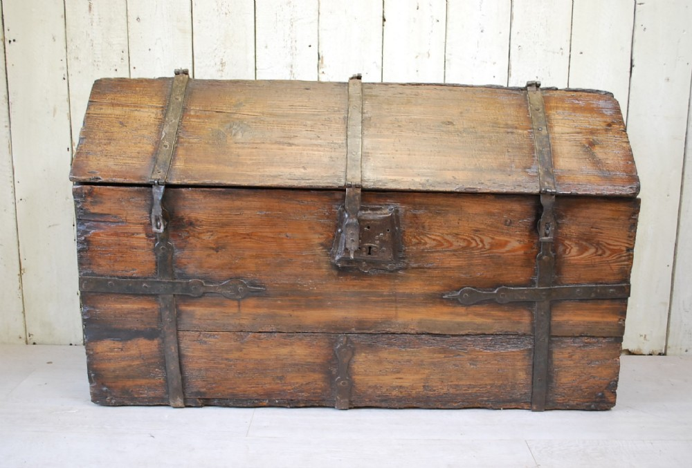 antique french 17thcentury maritime strong box coffre forte