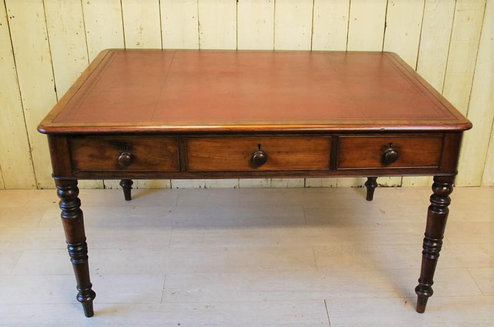 antique english regency period mahogany writing desk