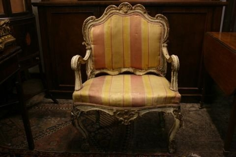 c18th italian armchair