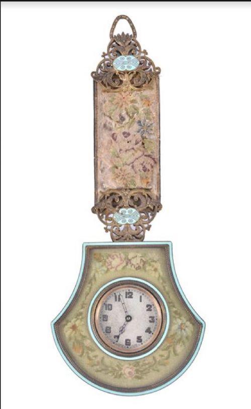 edwardian austrian carriage travelling clock