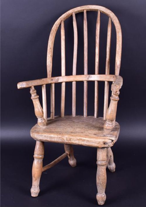 c19th childs windsor chair