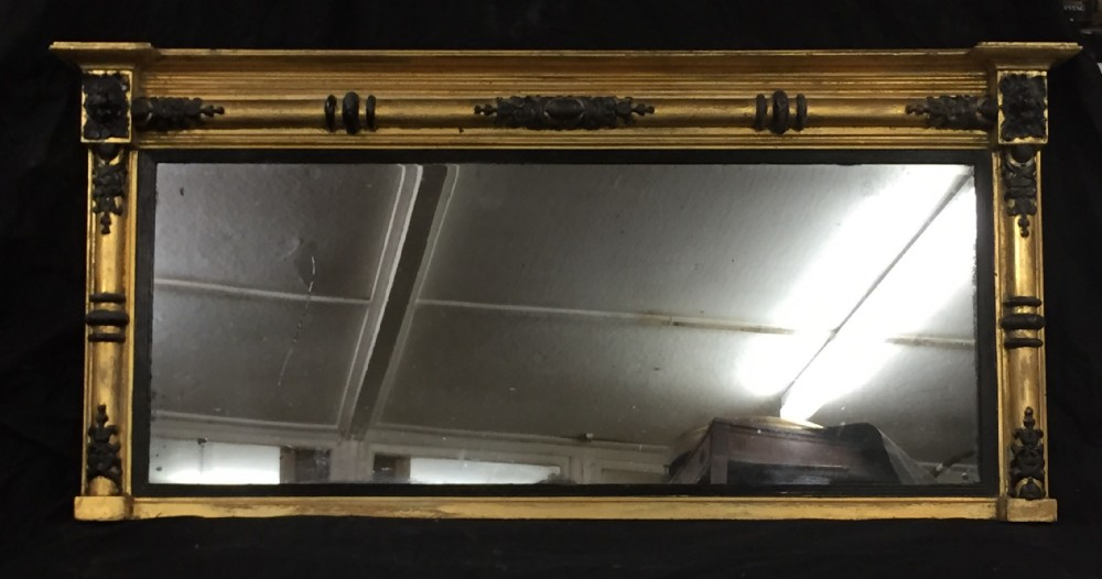 regency overmantel mirro